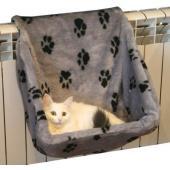 Лежак-гамак на радиатор для кошек, 40*30*37 см  ЦВЕТА в ассортименте