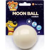 """Светящийся в темноте мяч для развлечений и угощений """"Луна"""", 6 см"""