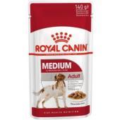 Паучи кусочки в соусе для собак средних пород