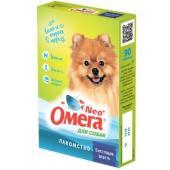 """Омега Neo +  Мультивитаминное лакомство для собак """"Блестящая шерсть"""" с биотином, 90 таб."""