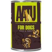 Консервы для взрослых собак с уткой и индейкой, AATU DUCK & TURKEY