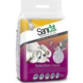 Комкующийся ультра белый наполнитель с ароматом детской присыпки (суперкомкование), Selection Oriente, 15 л