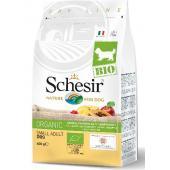 Сухой корм для взрослых собак мелких пород с домашней птицей Schesir Bio Maintenance