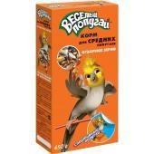 Весёлый попугай Корм для средних попугаев Отборное зерно