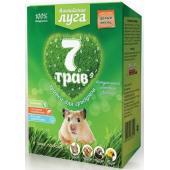 """Альпийские луга Травка """"7 трав"""" для грызунов (лоток), набор для проращивания"""