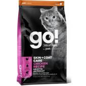 Для котят и кошек с цельной курицей, фруктами и овощами (GO! SKIN + COAT Chicken Recipe for Cats)