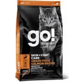 Беззерновой для котят и кошек с лососем (GO! SKIN + COAT Grain Free Salmon Recipe CF)