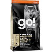 Беззерновой для собак всех возрастов c ягненком и мясом дикого Кабана (GO! CARNIVORE GF Lamb + Wild Boar Recipe DF)