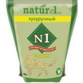 """Комкующийся наполнитель Naturel """"Кукурузный"""" на 4,5л"""