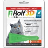 Капли на холку для кошек 4-8 кг, от блох, клещей, насекомых