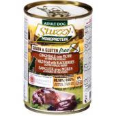 Stuzzy Monoprotein консервы для собак, кабан с ежевикой