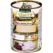 Stuzzy Monoprotein консервы для собак, индейка