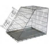 Клетка металлическая с уклоном, (Wire cage with slope side)