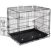 Клетка для животных c 2 дверцами, эмаль, 77*56*64 см (003-2K)