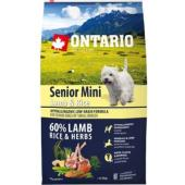 Для пожилых собак малых пород  с ягненком и рисом, Senior Mini Lamb & Rice