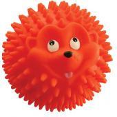 """Игрушка для собак """"Мяч-Ёжик"""", винил, 9,5 см"""