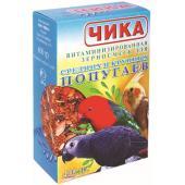 Корм для средних и крупных попугаев