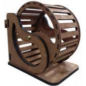 Колесо подвесное для мелких грызунов, фанера, диаметр 16 см