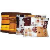 Лежак прямоугольный для животных, бязь, L 65*50*4см