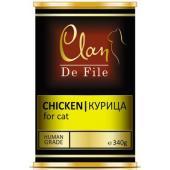 Clan De File консервы для кошек (с курицей)