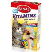 """Витамины с минералами для кошек """"Vitamins"""" 100 таб."""