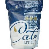 Силикагелевый наполнитель для кошачьего туалета (белые кристаллы)