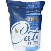 Силикагелевый наполнитель для кошачьего туалета (синие + белые кристаллы)
