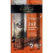 Колбаски-мини для кошек с телятиной и ливерной колбасой 4шт. по 2г