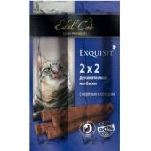 Колбаски-мини для кошек с форелью и солодом 4шт. по 2г
