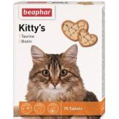 Кормовая добавка с биотином и таурином для кошек, Kitty's + Taurine-Biotine