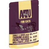 Паучи для кошек с индейкой и гусем, AATU FOR CATS TURKEY & GOOSE