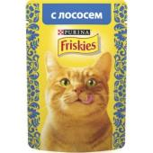 Кусочки в подливе с Лососем для кошек