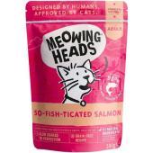 """Паучи для кошек с лососем, курицей и говядиной """"Мурлыка"""", So-fish-ticated Salmon"""