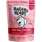 """Паучи для собак с говядиной и бурым рисом """"Вуф-строганов"""", Beef Waggington"""