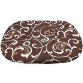 Подстилка для пластикового лежака Sleeper 4 Stefanplast , 71*48 см, коричневый с завитками