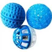 """Набор игрушек для кошек 3 мячика (пластик,латекс,""""кристалл"""")"""