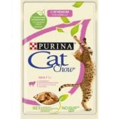 Паучи для кошек Кусочки в желе сягненком и зеленой фасолью