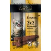 Колбаски-мини для кошек с уткой и сыром 4шт. по 2г