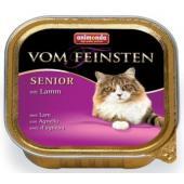 Консервы для кошек старше7 лет ягненком (Vom Feinsten Senior)