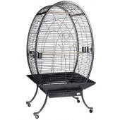 Клетка для птиц овальная на колесах, 88,5*88*159  см (А28)
