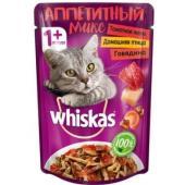 """""""Аппетитный микс"""" домашняя птица и говядина в томатном желе для кошек"""