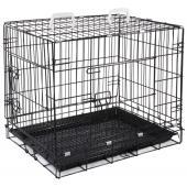 Клетка для животных c 2 дверцами, эмаль, 61*45,5*52 см (002-2K)