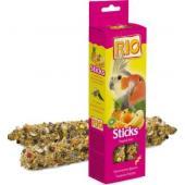 Палочки для средних попугаев с тропическими фруктами, 2*75 г