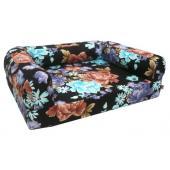 Лежанка Диван со съемным чехлом мебельная ткань (75231)