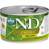 N&D Prime консервы для собак MINI Кабан и яблоко