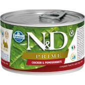 N&D Prime консервы для щенков MINI курица с гранатом