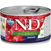 N&D Quinoa консервы для собак MINI поддержка пищеварения