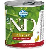 N&D Prime консервы для щенков курица с гранатом