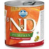N&D Pumpkin консервы для собак курица с тыквой и гранатом