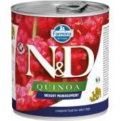N&D Quinoa консервы для собак контроль веса